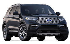 New Ford Explorers near Claresholm
